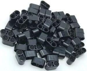 Lego Nuevo Negro Técnica Liftarm Grueso 1 x 2 Piezas