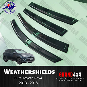 Premium Weathershields Window Visors for Toyota Rav4 2013 - 2018 Rav-4