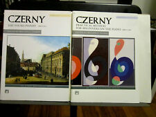 Two Piano books by Czerny, Young Pianist & Practical Method for Beginners-Euc