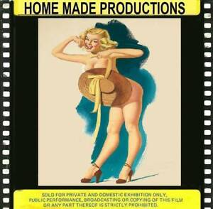 MIAMI FILM 516-----A VINTAGE  GLAMOUR FILM FROM THE 1960`S VERY RARE 8MM B/W