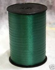 "Forest Green 3/16"" Curling Ribbon 500 Yards Spool"