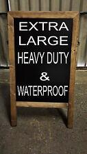 CHALKBOARD- BLACKBOARD- HEAVY DUTY- CHALK OR LIQUID CHALK 120cm X 72cm - 18kgs