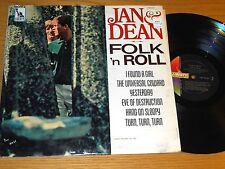 """MONO LP - JAN & DEAN - LIBERTY LRP-3431 - """"FOLK 'n ROLL"""""""