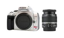 Canon EOS Digital Rebel XTi / 400D 10.1 MP Digital SLR Camera - Silver (Kit...