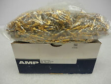 (NEW) Amp 66360-4 Female Pin Contact Box of 860 Series M Type III