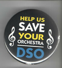 old Help Save your ORCHESTRA DSO Denver symphony pin