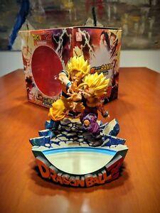 DRAGON BALL Z Dramatic Diorama Goku Gohan Father Son Kame Hame Ha (PROOVY 2009)