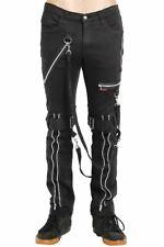 Tripp NYC Strap Zipper Bondage Pants Mens Trousers Punk Rock Gothic Emo