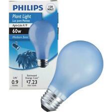 Philips 60-Watt Agro-Gro Plant Light Bulb w/Standard Medium Base
