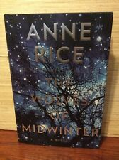 ANNE RICE SIGNED THE WOLVES OF MIDWINTER BOOK 10/16/13 NYC BLOW OUT PRICE!!
