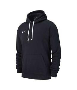 NIKE mens hoodie hoody sweatshirt jumper top club 19 M XXL BLACK gym football
