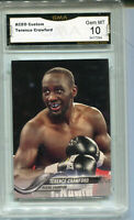 Terence Crawford Boxing  Aceo Custom Rookie Gem Mint 10