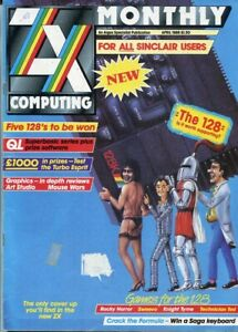 D208887 ZX Computing Vintage Computer Magazine April 1986