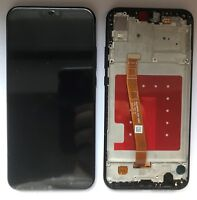 VETRO DISPLAY LCD TOUCH SCREEN SCHERMO + FRAME PER HUAWEI P20 LITE NERO ANE-LX1