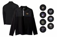 NHL Adidas Men's M - XL Layering Climawarm Performance 1/4 Zip Golf Pullover NWT