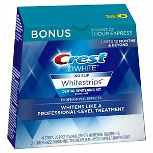 Crest 3D White Professional Effects Whitestrips 20 Treatments + Crest 3D...