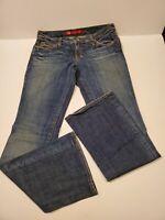 Women's X2 Denim Laboratory Jeans Flare Leg Size 30