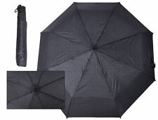 GUESS Women's Logo Umbrella Charcoal Color