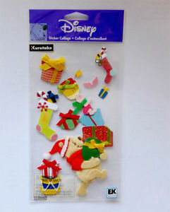 Jolee's Boutique Winnie the Pooh and Gifts 3d Stickers - DJBW008 FREE POST