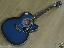 Givson Acoustic Guitar Venus Special - Blue (100%Genuine - Incl VAT)