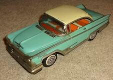 "Vintage Modern Toys 1959 Buick Invicta Tin Friction 9"" Japan"
