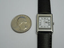 CONCORD SOLID STEEL ULTRA THIN 3MM DELIRIUM 19MM DRESS WATCH