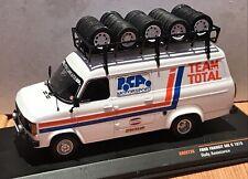 IXO 1/43 FORD TRANSIT MKII Code 3 PCA Motorsport Service Van / Assistance Rally