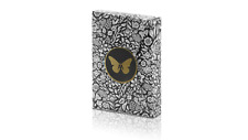 More details for limited edition butterfly playing cards (black and gold) by ondrej psenicka