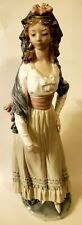 "New ListingLladro 5125 "" Goya Lady "" Woman With Curls Retired Porcelain Figurine"