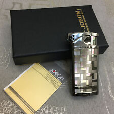JOBON 516A  Refillable Dual Style Flame Butane Cigar Cigarette Lighter Black