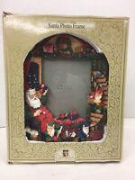 "Grandeur Noel 5"" X 7"" Holiday Santa Photo Frame in Box"