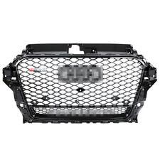 RS3 Favo Griglia paraurti anteriore Griglia nero lucido per Audi A3 /S3 8V 13-16