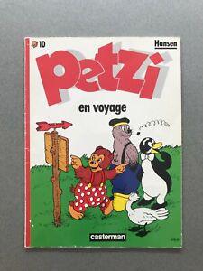 PETZI n°10 Petzi en Voyage HANSEN 1987 Casterman