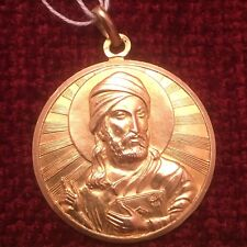 18ct Gold double sided Islamic Heavy PENDANT/ medal   Free postage