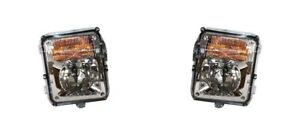 For 2004-2009 Cadillac SRX Fog Light Lamp Assembly PAIR Left Side + Right Side