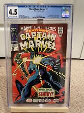 Marvel Super-Heroes #13 CGC 4.5 Origin 1st App Carol Danvers Captain Marvel