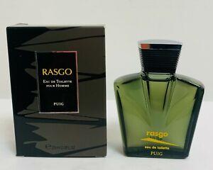RASGO PUIG EAU COLOGNE 25 ML  COLONIA PERFUME TOILETTE OLD FORMULA
