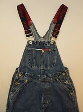 Tommy Hilfiger Vintage Overalls Spell Out Straps Womens Jumper XS