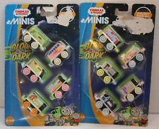 "SEALED Thomas & Friends Minis ""Glow in the Dark""  Trains - 2pks, 10 Trains"