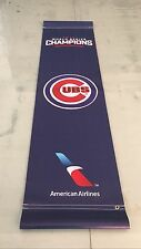 Rare Chicago Cubs Double Sided Street Banner 2016 World Series Champions