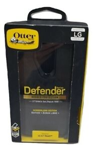 NEW Original Otterbox Defender Series Case with Holster for LG G7 ThinQ - Black