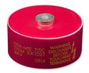 5x Keramik Kondensator 0,033nF 3000V DC Vishay d5x3mm 33pF