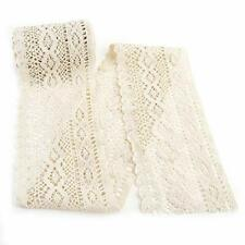 Idongcai Wide Lace Trim for Fabric Crochet Lace Trim Lace Ribbon for Sewing T.