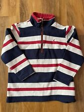 Joules Boys Half Zip Jumper/sweater Age 5-6