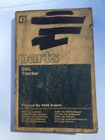 Caterpillar D8L Tractor Parts Manual. Cat Oem Parts Book.