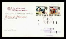 Dr Who 1975 Seychelles Space Tracking Station Mahe Island Apollo/Soyuz f24491