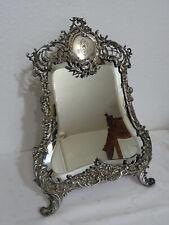 Antiker, Barock Spiegel, Tischspiegel markiert