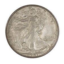 Raw 1943-S Walking Liberty 50C Uncertified US SF Mint Silver Half Dollar Coin