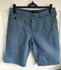 Men's Blue River Island Chino Type Shorts - Size 30