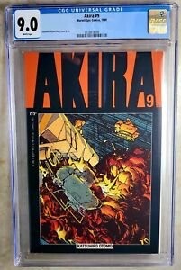 Akira #10 1989 Marvel//Epic Comics CGC 9.6 White Pages